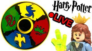 LIVE Sorting Hat LEGO Harry Potter Experiment
