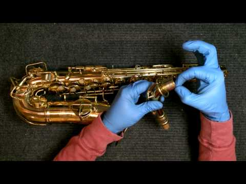 Repairman's Overview: 1925 Conn New Wonder Series II Alto Saxophone