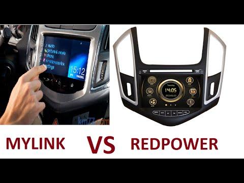 Штатная автомагнитола Chevrolet Cruze LTZ Mylink замена на Redpower