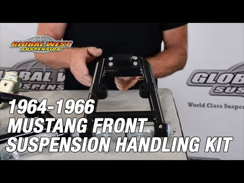 1964-66 Mustang Front Suspension Handling Kit From Global West