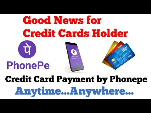 Credit card payment by Phonepe app | Credit card payment anytime anywhere | without netbanking
