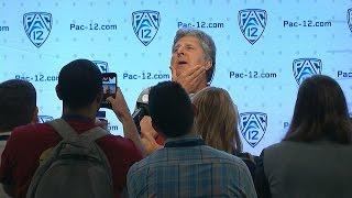 WSU's Mike Leach breaks down his least favorite media questions