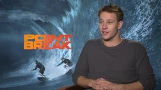 "Point Break: Luke Bracey ""Utah"" Official Movie Interview"