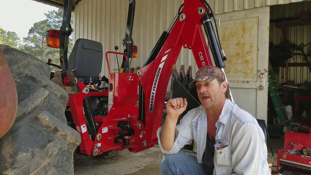 #39 Fixing Massey Ferguson GC 1710 Backhoe Hydraulic Joystick Problem