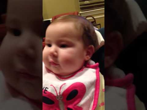 Baby Lily 2 Months Old Saying I Love You Youtube