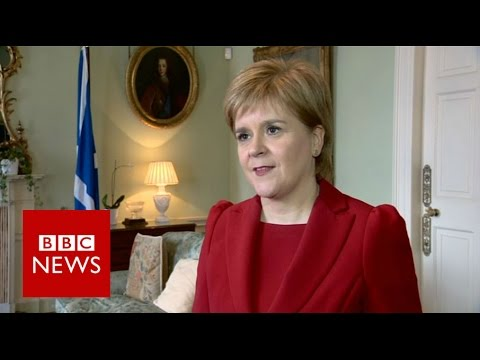 Nicola Sturgeon on general election - BBC News
