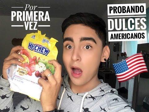 Probando dulces americanos - Fredy Blackburnt