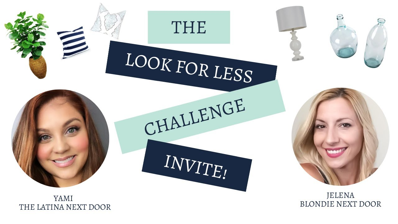 LOOK FOR LESS CHALLENGE Invitation August 2020