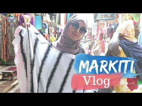SHOPPING IN MARKITI | MOMBASA