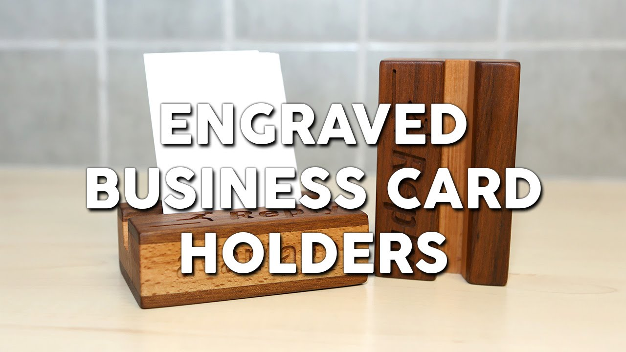 Engraved business card holders youtube magicingreecefo Gallery