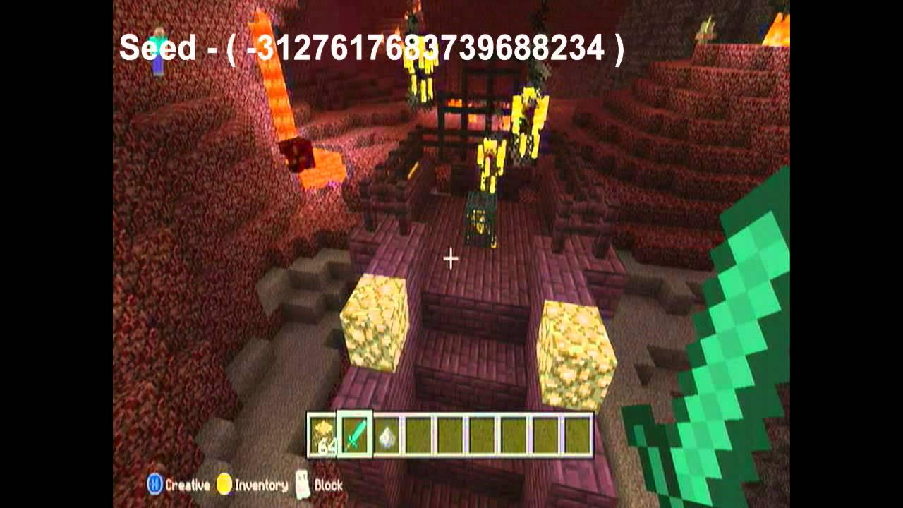 Minecraft Xbox 360 Mob Spawner BLAZE In Nether