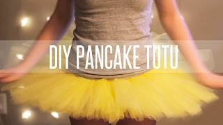 HOW TO MAKE A TUTU STIFF (PANCAKE TUTU)