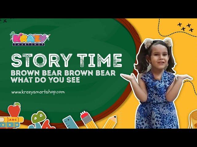 Brown Bear 🐻 Brown Bear What Do You See ?   A Read Aloud   Bill Martin Jr.