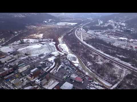 Pitcairn PA Drone Footage 4K