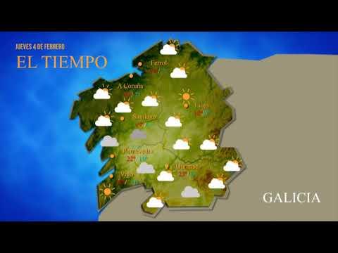 ¿Cuál es la previsión del tiempo para este jueves en Ourense?
