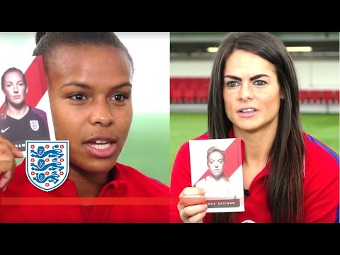 Guess the Lioness  Team Nikita Parris & Claire Rafferty  Who's Who