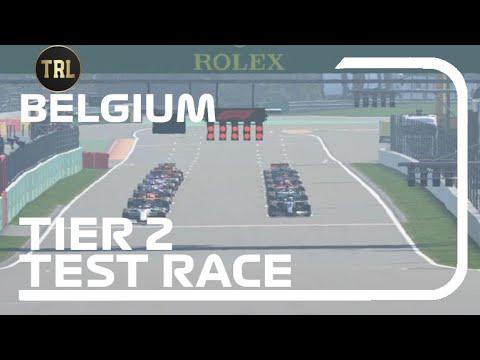TRL S1 - Belgium - Test Race T2