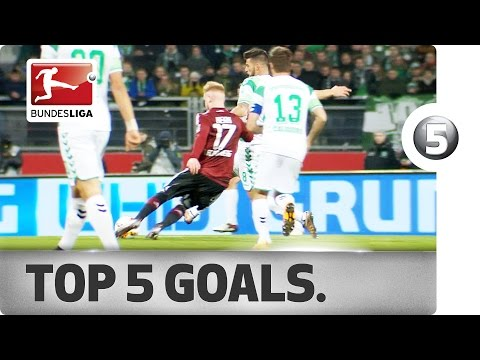 Stunning Strikes - Top 5 Goals on Matchday 23