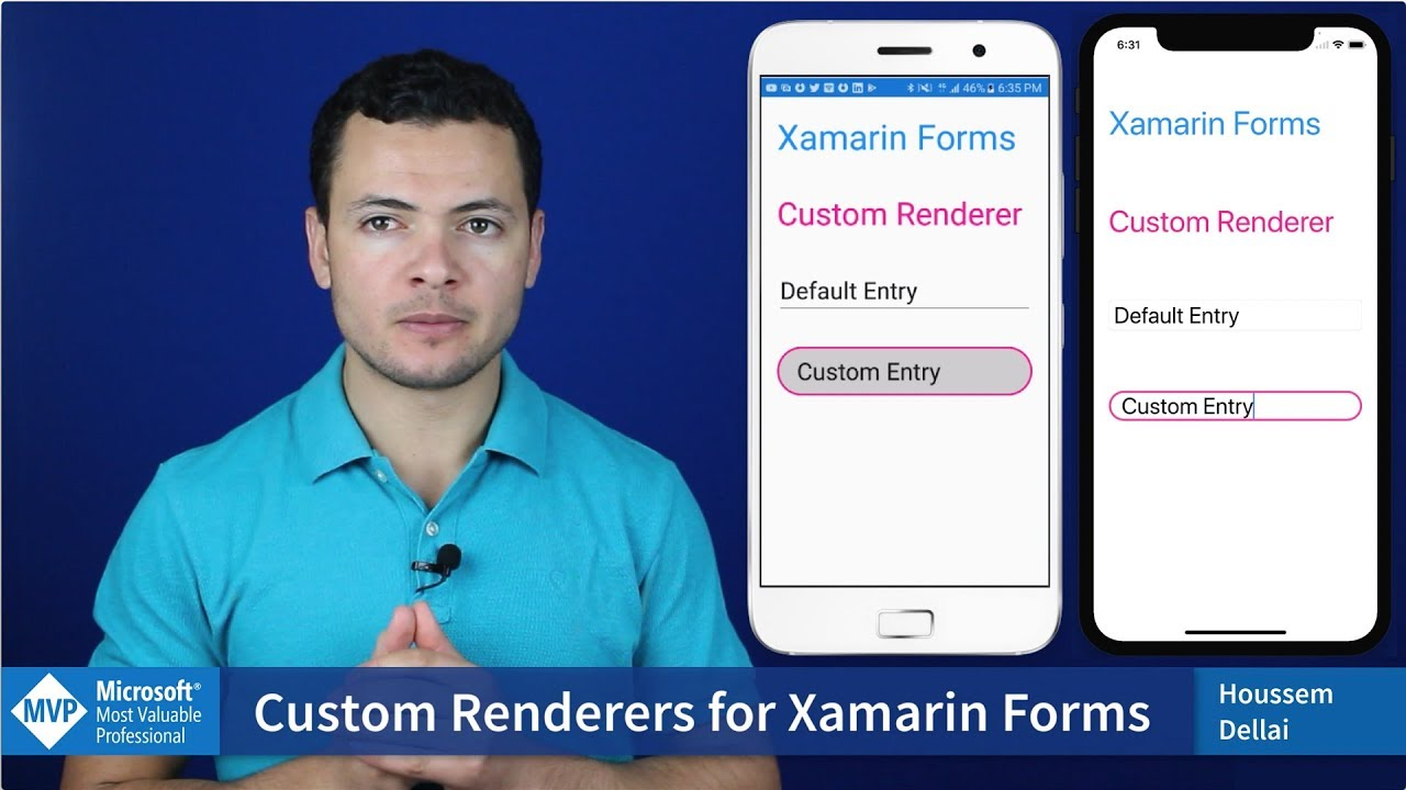 Custom Renderers for Xamarin Forms