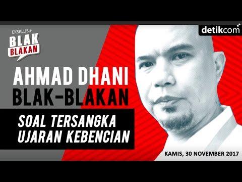 Blak-blakan Ahmad Dhani Soal Status Tersangkanya