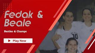 Jody Fedak and Kandice Beale McLaughlin flashback to their OCAA title