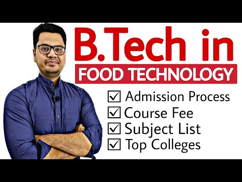 B.Tech in Food Technology Complete Details in Hindi | Career Options after 12th PCM | Sunil Adhikari