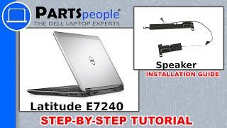 Dell Latitude E7240 Speaker How-To Video Tutorial