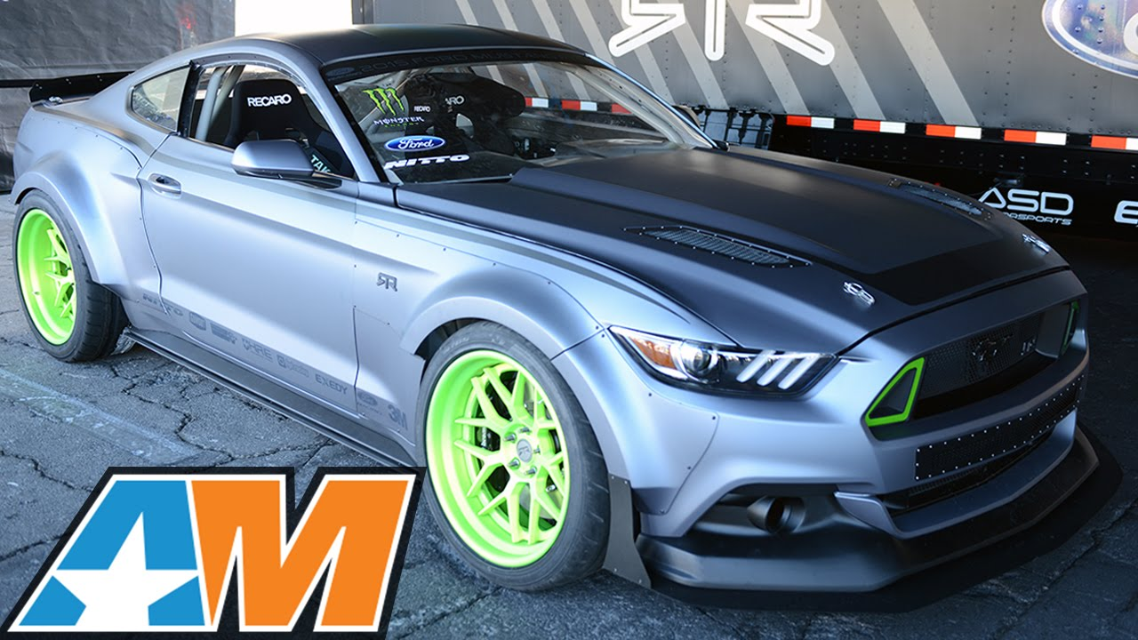 Sema 2014 2015 Mustang Rtr Spec 5 Concept Slays Tires