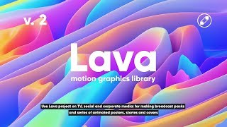 Lava Motion Graphics Library, v. 2