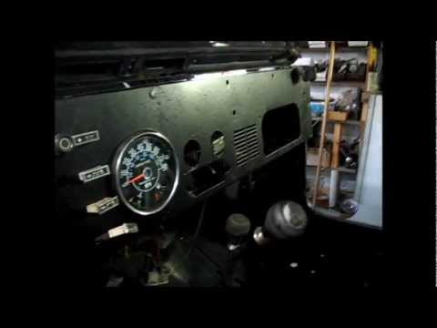 Putting A New Dash In The Old Jeep Cj7 Youtube