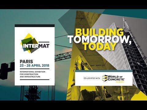世界三大建機展のひとつ「インターマット・パリ」が2018年4月に開催されます