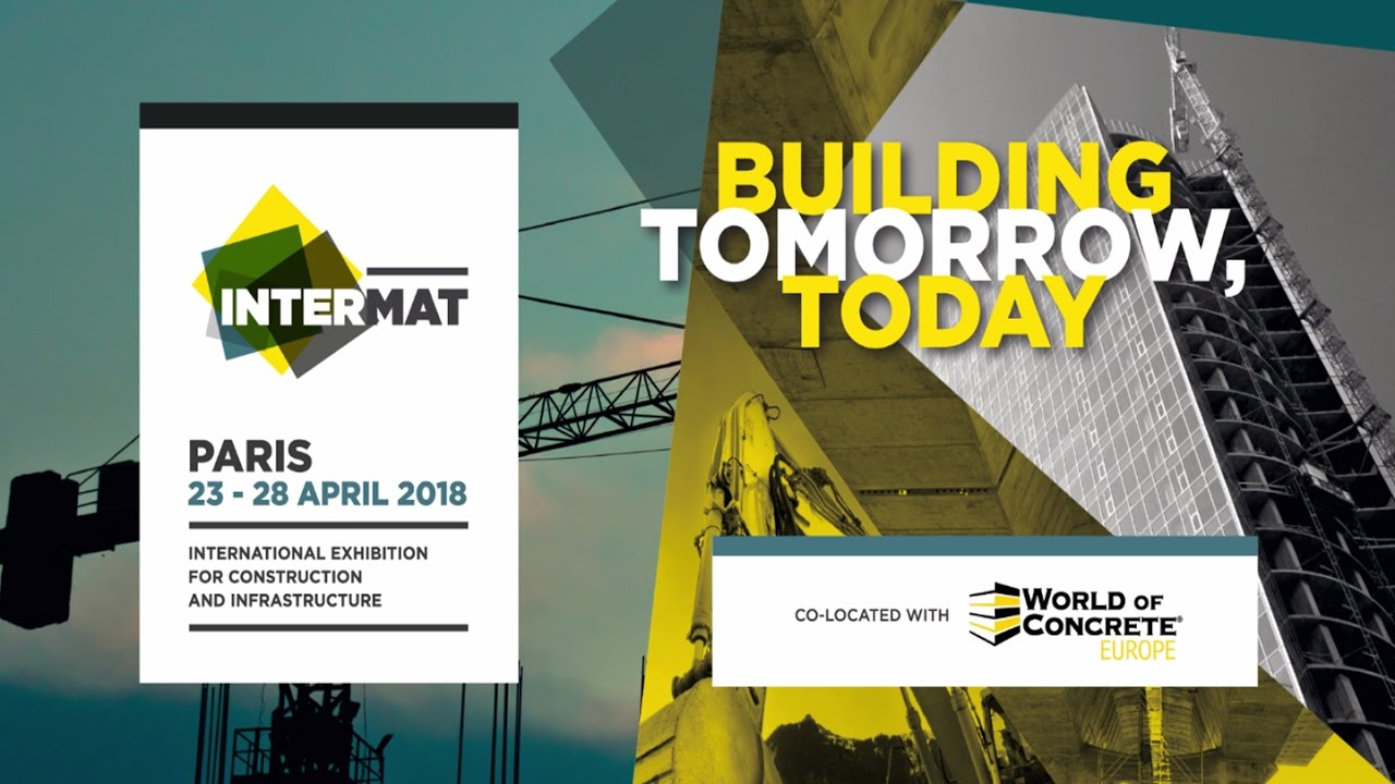 INTERMAT Paris & World of Concrete Europe 2018 Official Video