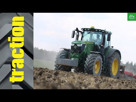 John Deere 6250R im traction Praxistest