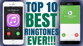 Hey guys today i'm bringing you the top 10 best ringtones, these aren't exactly in any particular order but yeah, hope enjoy!! ---download links: -------...