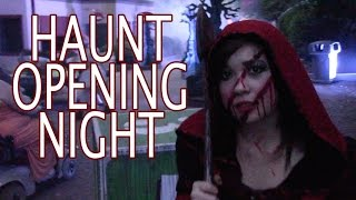 Halloween Haunt Opening Night 2015 Kings Dominion HD 60fps