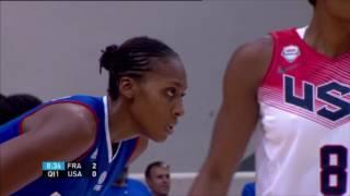 Basket Equipe de France 2014 France USA Féminin Prépa Mondial
