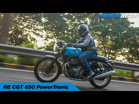 RE Continental GT 650 Review - PowerTRONIC Performance Tests   MotorBeam