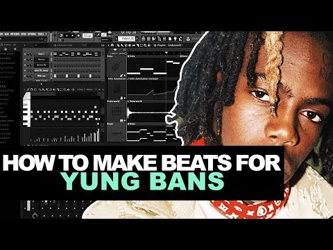 HOW TO MAKE A YUNG BANS TYPE BEAT (EASY) | How To Make Beats In FL Studio Tutorial 2018