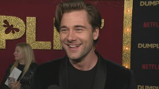 The 'To All The Boys I've Loved Before' actor approves of the title being passed on to 'Dumplin' star Luke Benward. 'Dumplin' is streaming now on Netflix.