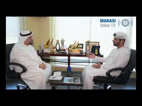 مجلة مراسي في مقابلة خاصة مع الرئيس التنفيذي لموانئ أبوظبي .. MARASI News  With CEO of AbuDhabiPorts