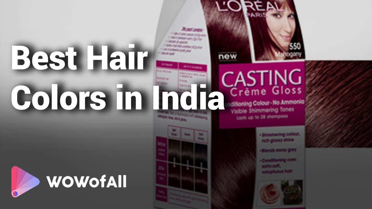 10 Best Hair Colors In India Youtube