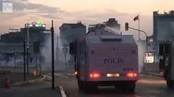 Mellakkapoliisi käytti yöllä kovia otteita Istanbulissa