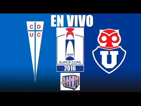 FINAL SUPERCOPA U CATOLICA vs U DE CHILE