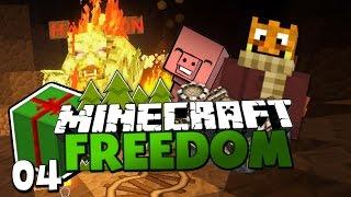 EIN EKELHAFTES GESCHENK & DIE MINE VON TIMBAL ✪ Minecraft FREEDOM #04