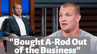 Gronk and A-Rod Discuss the Aftermath of Shark Tank Deal