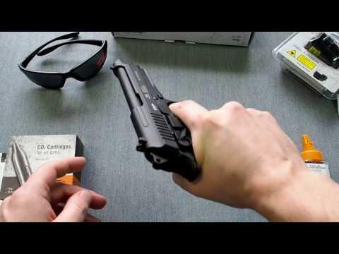 Обзор пневматического пистолета Gletcher TAR92 (Taurus)