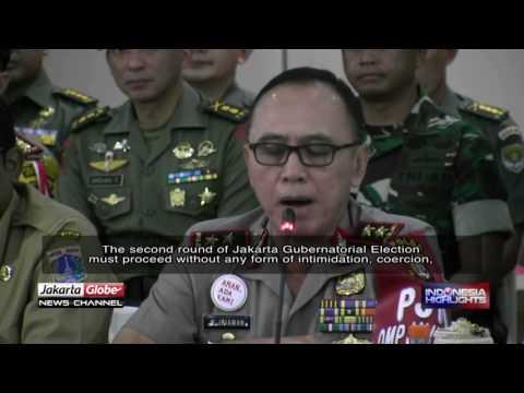Police, TNI, Satpol PP To Safeguard 2017 Jakarta Gubernatorial Election Run-off