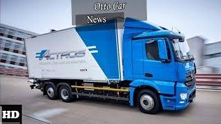 HOT NEWS !!! 2018 Mercedes eActros  spec & price