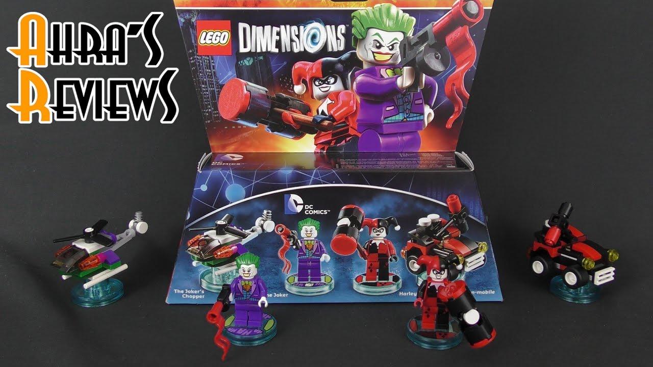 lego dimensions joker harley quinn team pack youtube. Black Bedroom Furniture Sets. Home Design Ideas