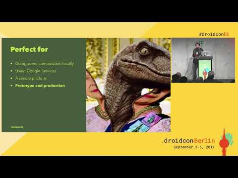 #droidconDE 2017: Gautier Mechling - Using Android things to detect & exterminate reptilians - DAY 2